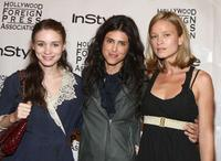 Rooney Mara, Francesca Gregorini and Amy Ferguson at the InStyle and HFPA Toronto Film Festival party.