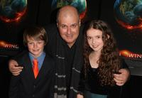 Chandler Canterbury, Director Alex Proyas and Lara Robinson at the premiere of
