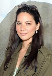 Olivia Munn at the Kodak Photo Sharing booth during the 21st Annual