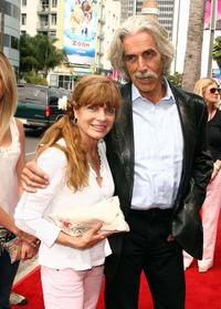Katherine Ross and Sam Elliott at the premiere of