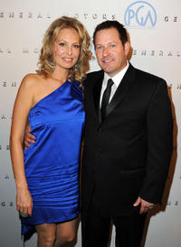 Camilla Oliver and Brian Oliver at the 22nd Annual Producers Guild Awards.