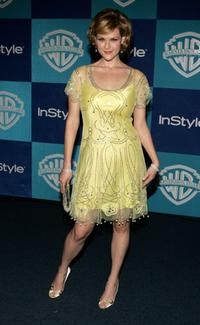 Sara Rue at the Warner Bros./InStyle Golden Globe after party.