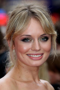 Laura Haddock at the world premiere of