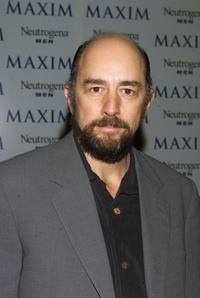 Richard Schiff at the Maxim Magazine party in honor of photographer Nigel Parry.