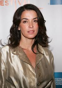Annabella Sciorra at the premiere of