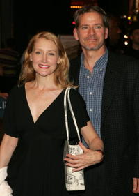 Patricia Clarkson and Campbell Scott at the opening night of