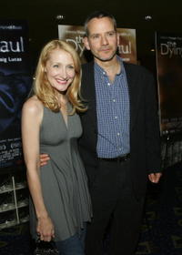 Patricia Clarkson and Campbell Scott at the premiere of