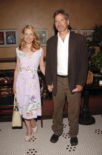 Patricia Clarkson and Campbell Scott at the opening night celebration for
