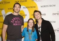 Daniel Cudmore, Guest and Charlie Bewley at the promotion of