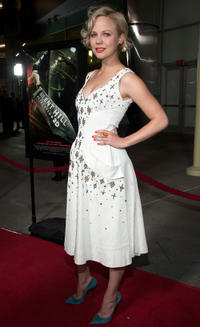 Adelaide Clemens at the California premiere of