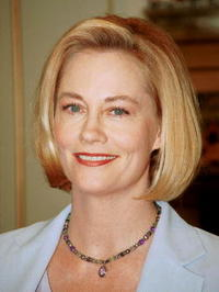 Cybill Shepherd at the book signing of