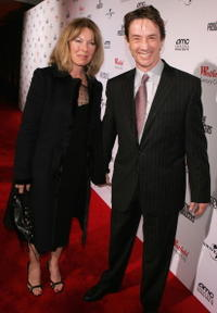 Martin Short and his wife Nancy Dolman at the Los Angeles premiere of