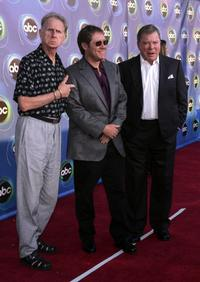 James Spader, Rene Auberjonois and William Shatner at the ABC TCA party in West Hollywood.