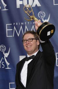 James Spader at the pressroom during the 59th Annual Primetime Emmy Awards at the Shrine Auditorium.