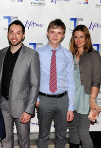 Edsson Morales, Dane DeHaan and Ashley Williams at the New York premiere of