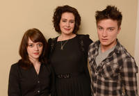 Lauren Ashley Carter, Sean Young and Daniel Manche Carter at the portrait session of
