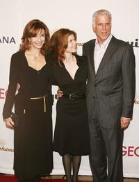 Mary Steenburgen, publicist Annett Wolf and Ted Danson at the Oceanas 2006 Partners Award Gala.