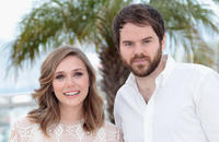 Elizabeth Olsen and director Sean Durkin at the photocall of