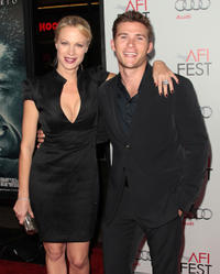 Alison Eastwood and Scott Eastwood at the premiere of