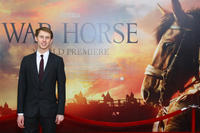 Robert Emms at the world premiere of