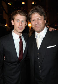 Robert Emms and Sean Bean at the after party of the California premiere of