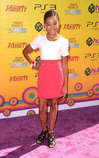 Amandla Stenberg at the Variety's 5th Annual Power Of Youth Event in California.