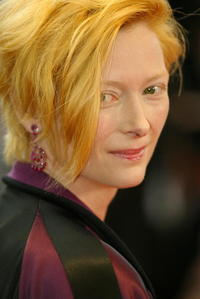 """Tilda Swinton at the screening of """"De-Lovely"""" in Cannes, France."""