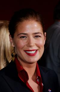 Maura Tierney at the 53rd Annual Primetime Emmy Awards.