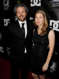 Jacob Rosenberg and producer Hana Ripperger-Suhler at the California premiere of