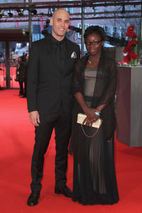 Director Kim Nguyen and Rachel Mwanza at the Germany premiere of