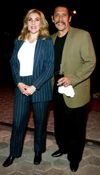 Debbie and Danny Trejo at the Youth, Improving Non-Profit for Children Awards.