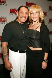 Danny Trejo and Debbie at the New York premiere of
