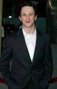 Jonathon Tucker at the premiere of