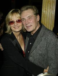 Twiggy and Leigh at the launch of Bill Wyman's Book