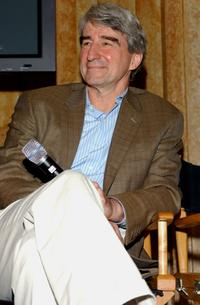 Sam Waterston at the press conference for the new seasons of