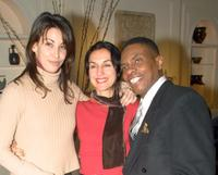 Gina Gershon, Lisa Zane and Keith David at the Working Playground's Benefit.