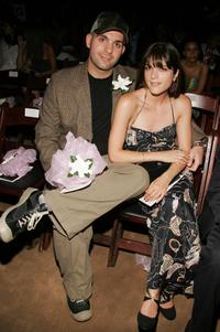 Ahmet Zappa and Selma Blair at the Aire showcase new collection show