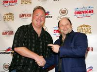 Jason Alexander and Kevin Burke at the CineVegas film festival, for the screening of
