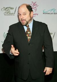 Jason Alexander at the Lili Claire Foundation fundraiser at the Mandalay Bay Events.