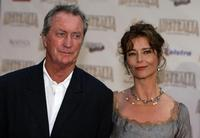 Bryan Brown and Rachael Griffith at the world premiere of