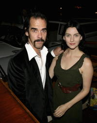 Nick Cave and Susie Bick at the 63rd Venice Film Festival.