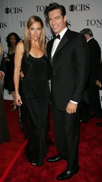 Jill Goodacre and her husband Harry Connick, Jr. at the 60th Annual Tony Awards.