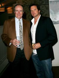 Jim Broadbent and Colin Firth at the private screening of