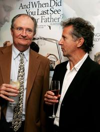 Jim Broadbent and Blake Morrison at the private screening of