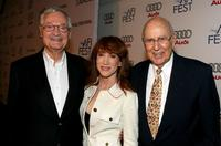 Roger Corman, Kathy Griffin and Carl Reiner at the special screening of