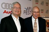 Roger Corman and Carl Reiner at the special screening of