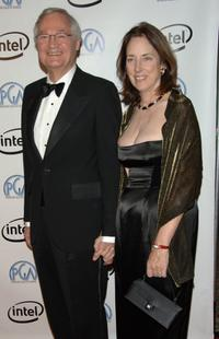 Roger Corman and Julie Corman at the 2006 Producers Guild awards.