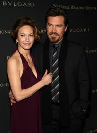 Diane Lane and Josh Brolin at the 2008 National Board of Review Awards gala.
