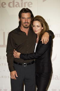 Diane Lane and Josh Brolin at the Crystal & Lucy Awards celebrated by Women In Film in Century City, California.