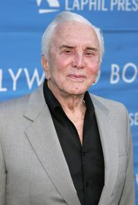 Kirk Douglas at the 8th Annual Hollywood Bowl Hall Of Fame Night.